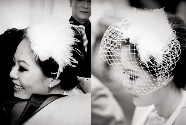 how i made my own hair fascinator and birdcage veil